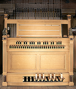 Carillon keyboard